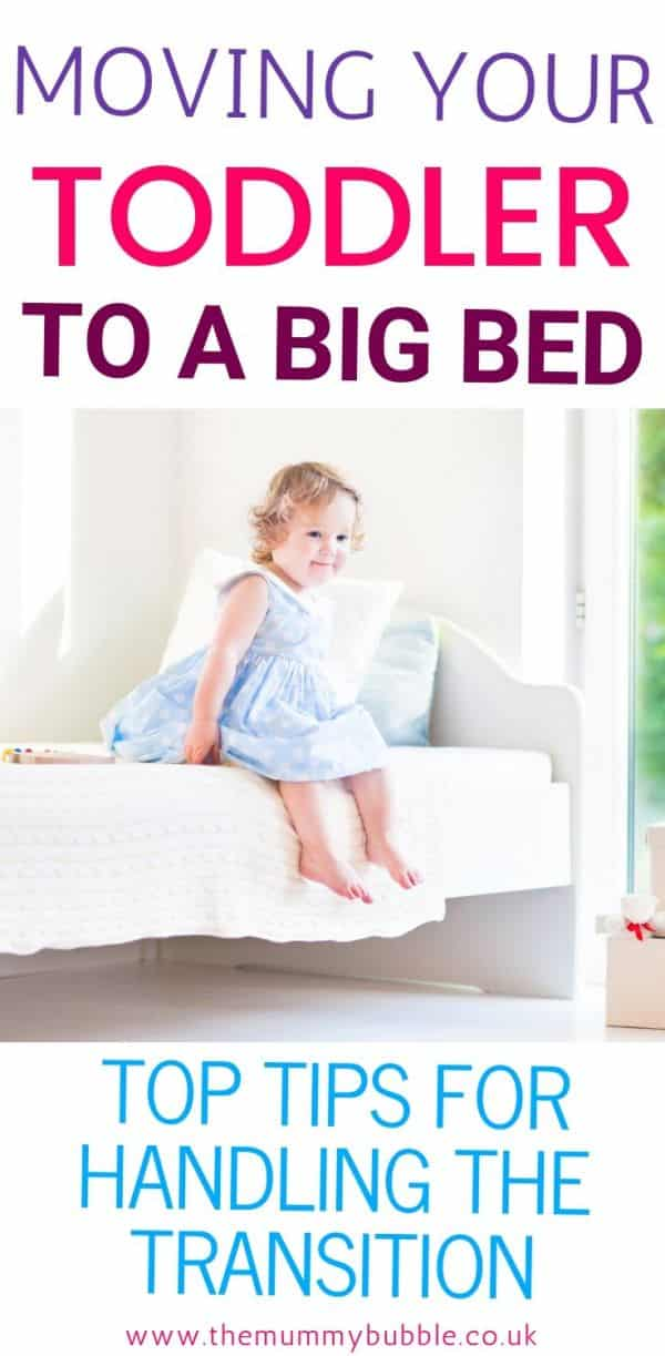 Tips for handling the transition from cot to toddler bed