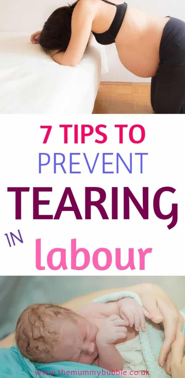 7 ways to prevent tearing in labour