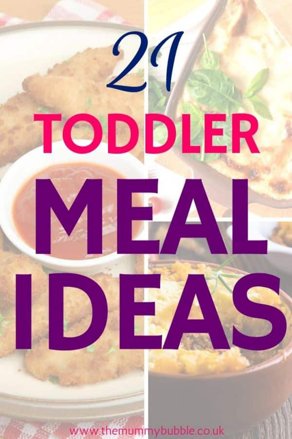 21 toddler meal ideas