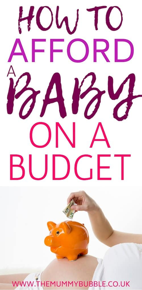 How to afford a baby on a budget