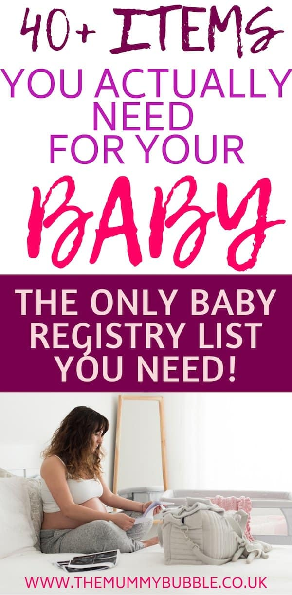 baby essentials for pregnant mamas
