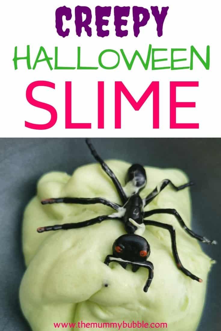 Creepy Halloween slime