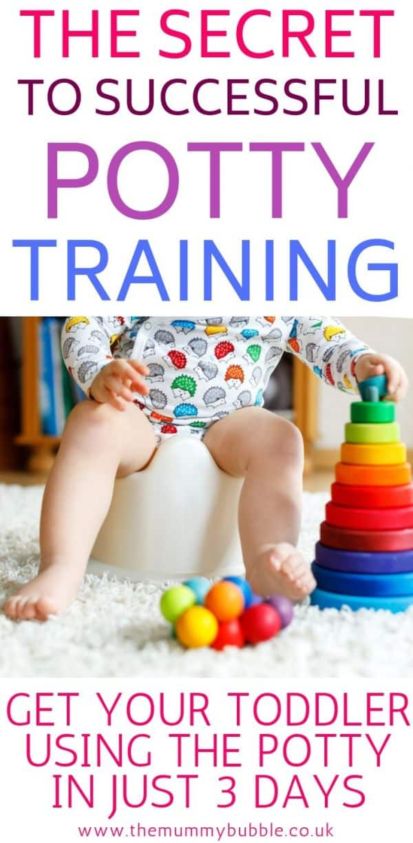 The secret to successful potty training for toddlers
