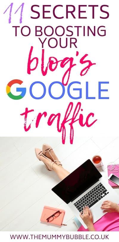 11 secrets to boosting your blog's Google traffic