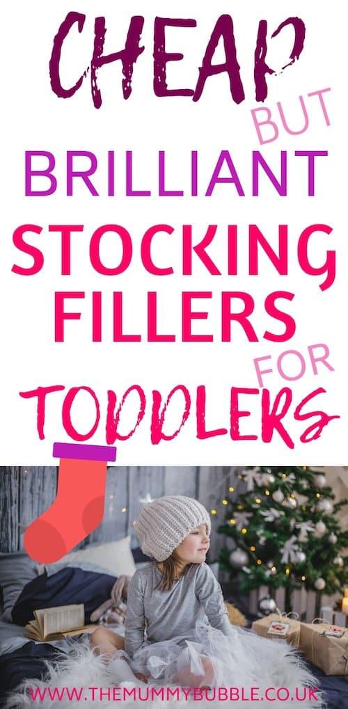 toddler stocking filler ideas