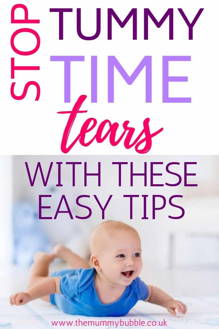 tummy time tips for your baby