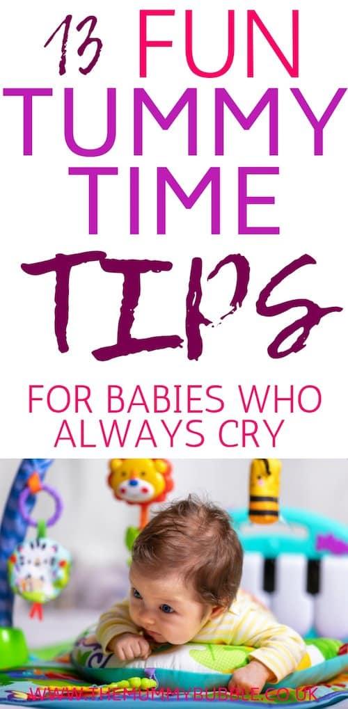 13 fun tummy time tips