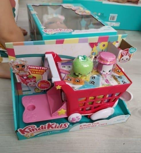 Kindi Kids rabbit petkins shopping cart
