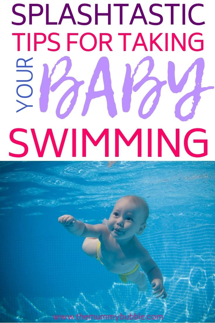 Tips for taking your baby swimming