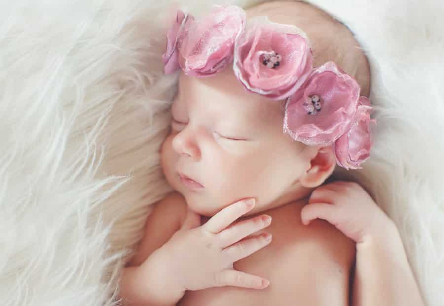 52 floral baby girl names