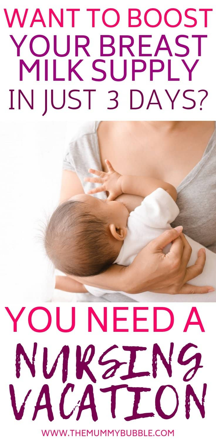 How to boost your breast milk supply in just 3 days