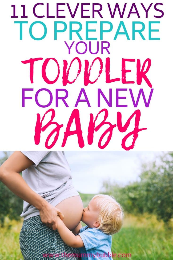 prepare toddler for a new baby