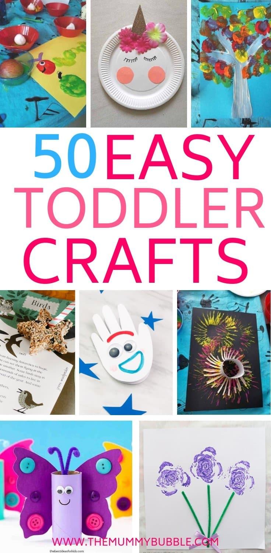 50 easy toddler craft ideas