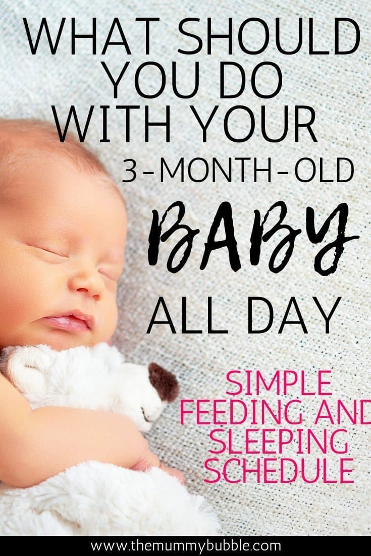 What to do with your 3 month old baby all day