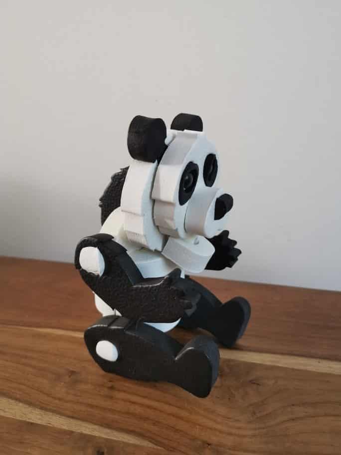 Milly& Flynn 3D Foam Puzzle Panda