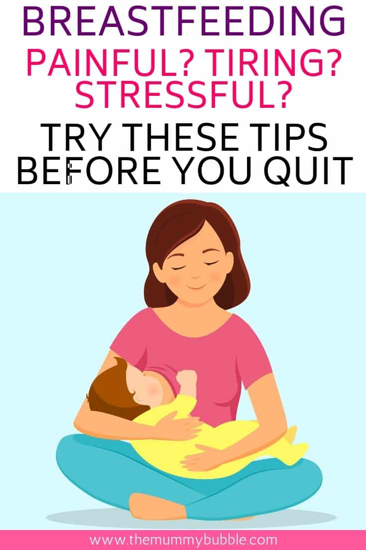 How to stick with breastfeeding when you feel like quitting