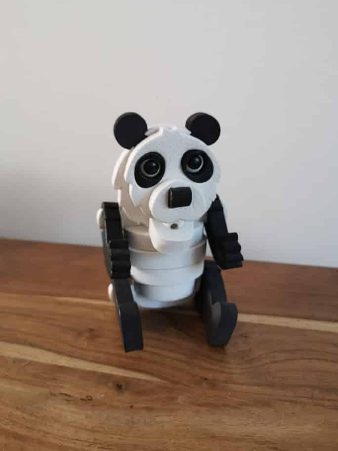 Milly & Flynn 3D foam puzzle panda