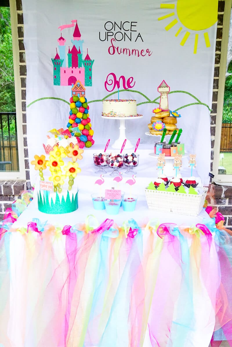 Once Upon a summer first birthday party idea
