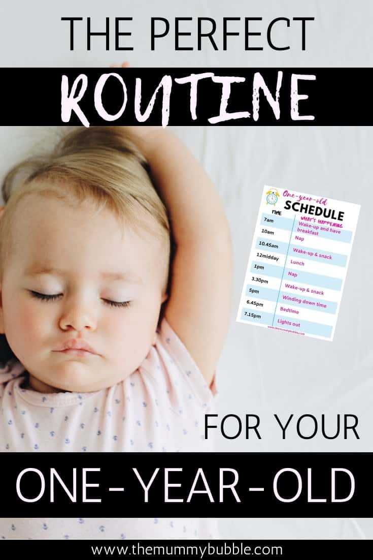The perfect routine for your one-year-old