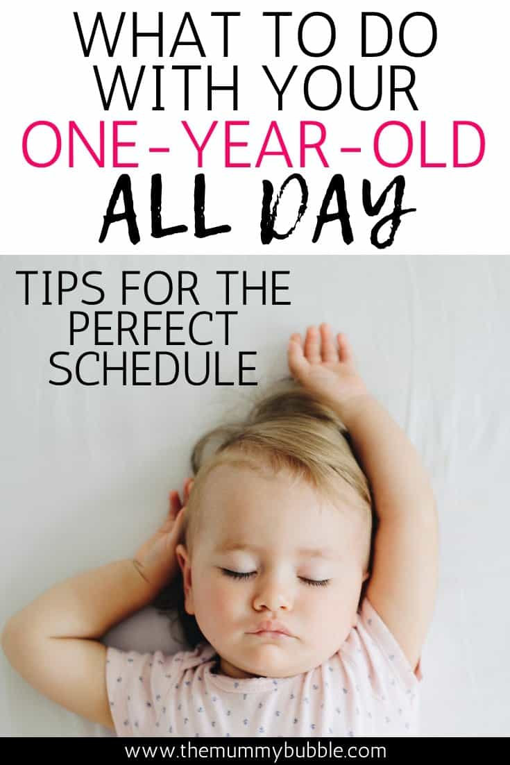 What to do with your one-year-old all day