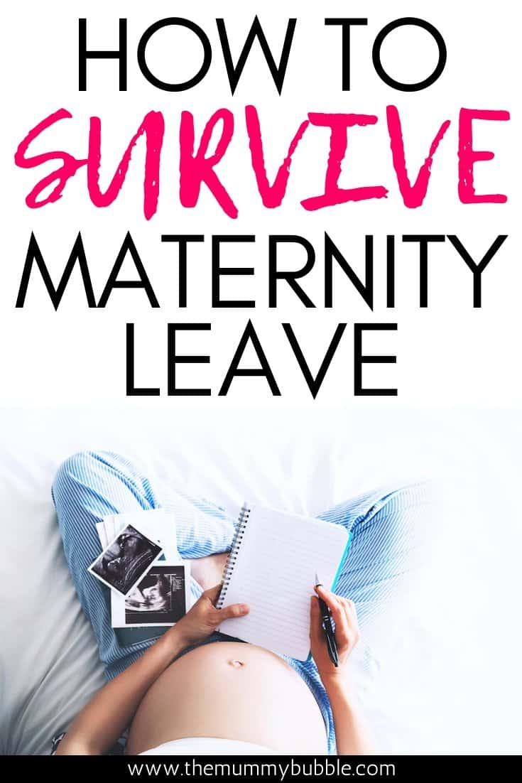 Tips for coping during maternity leave