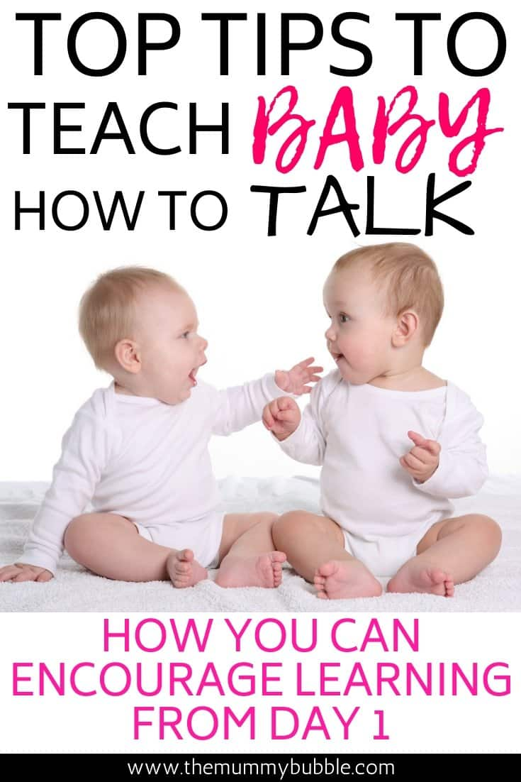 Tips for teaching baby how to talk