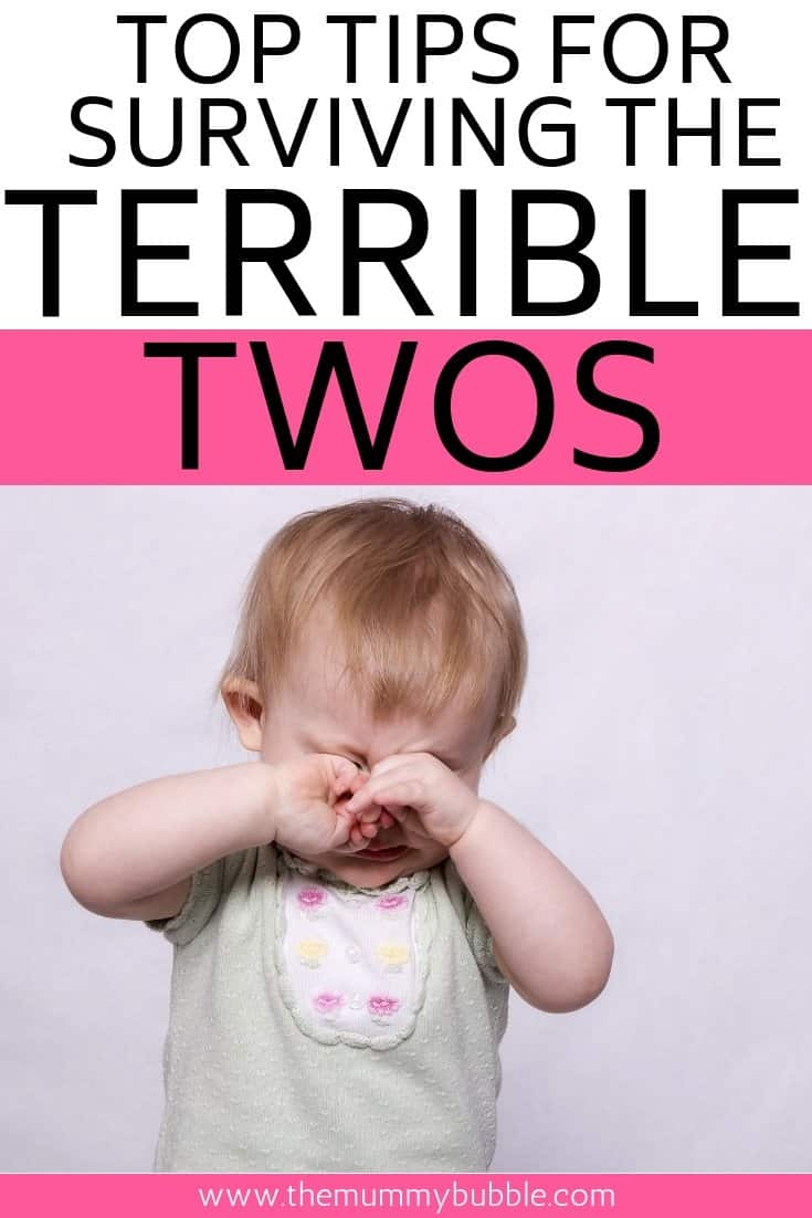 Tips for surviving the terrible twos