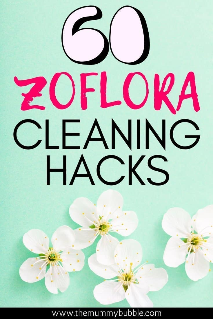 Zoflora cleaning hacks and tips