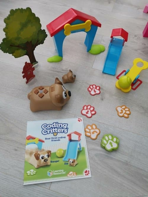 Coding Critters - Christmas gift idea for 4 to 5 year olds