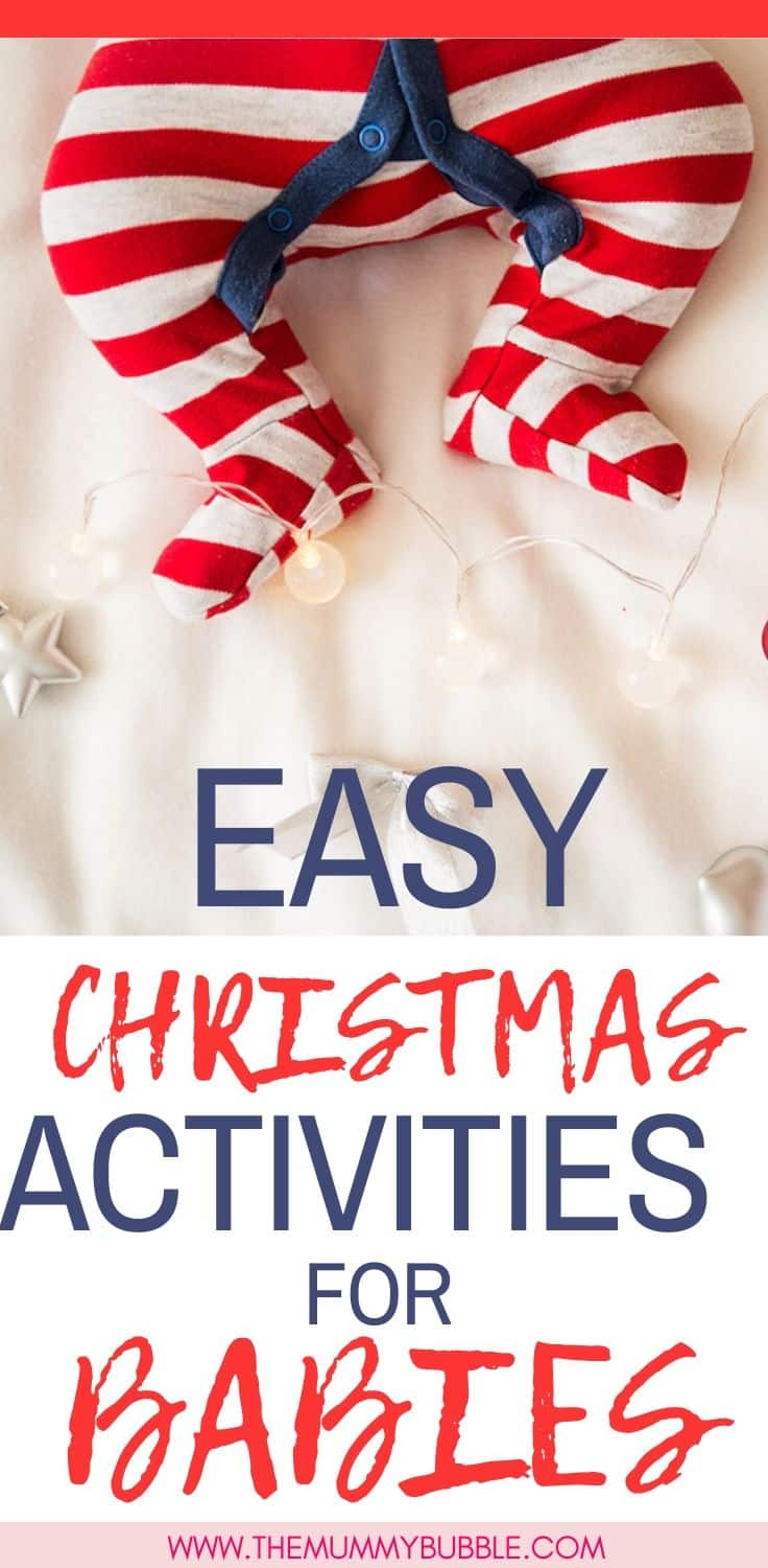 Easy Christmas activities for babies