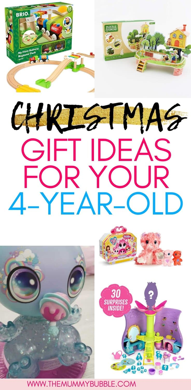 Christmas gift ideas for children aged 4 to 5