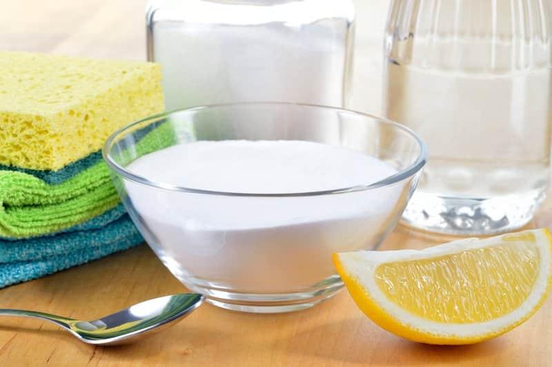 lemon and vinegar DIY natural all purpose cleaner recipe
