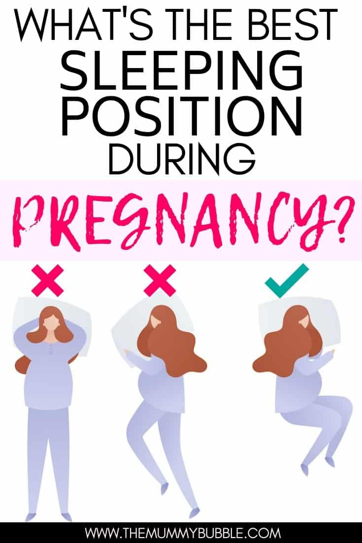 What's the best sleeping position during pregnancy