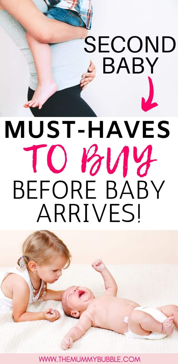 Second baby must-have products