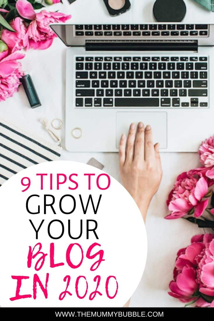 9 ways to grow your blog in 2020