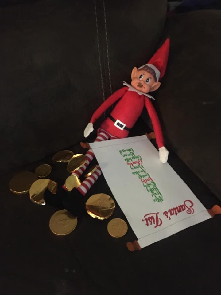 Elf on the Shelf nice list