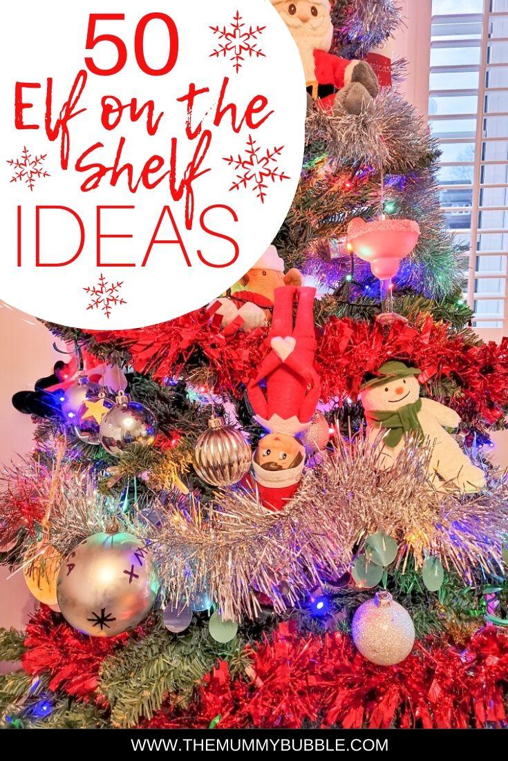 50 Elf on the Shelf ideas