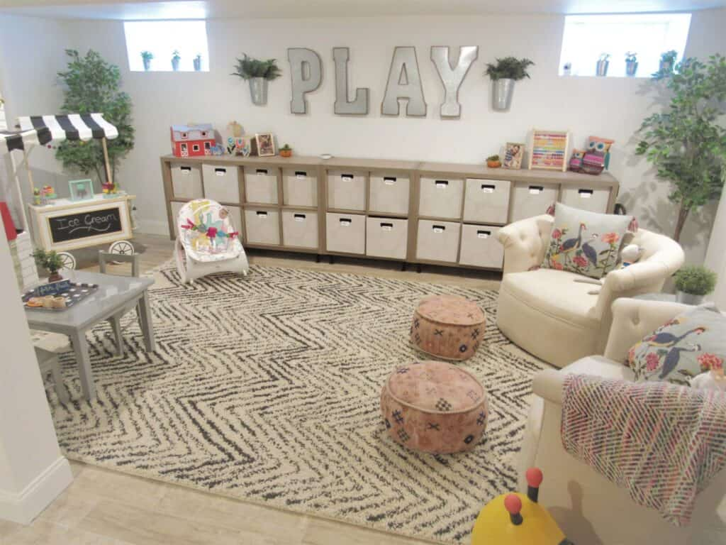 Beautiful playroom inspiration
