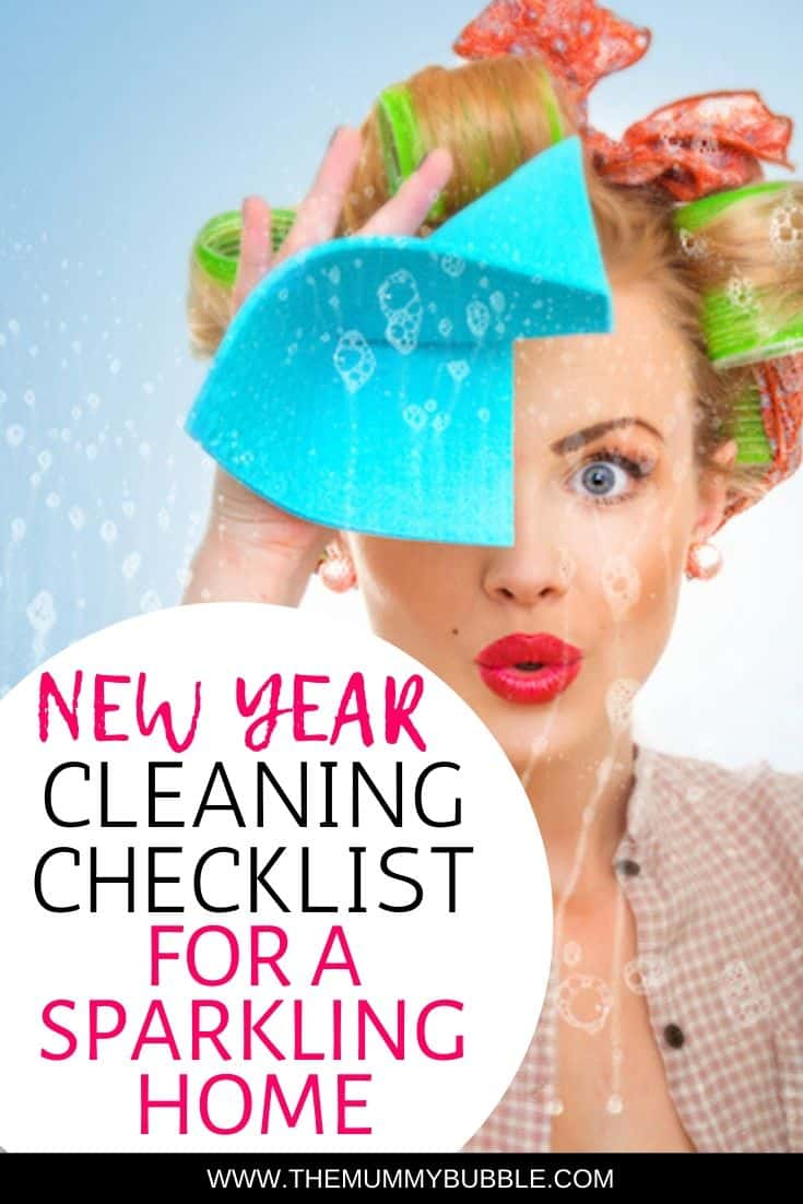 New year cleaning checklist and tips