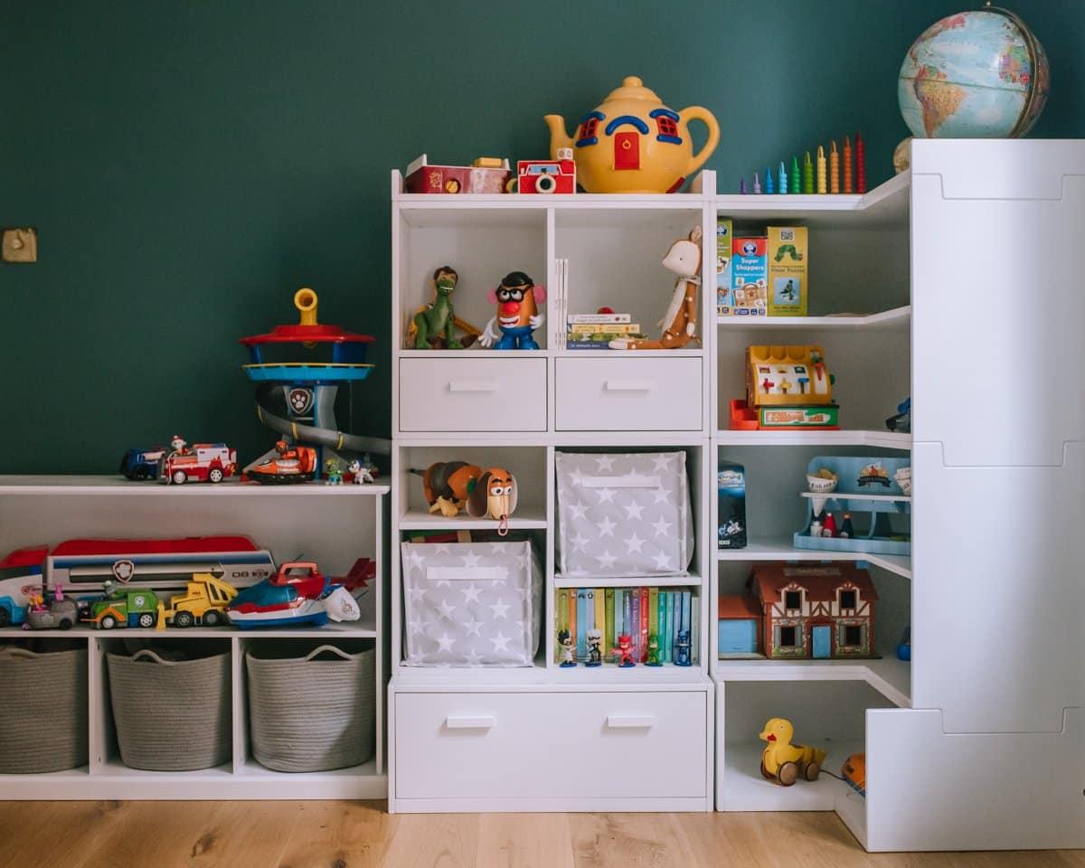 Playroom storage ideas