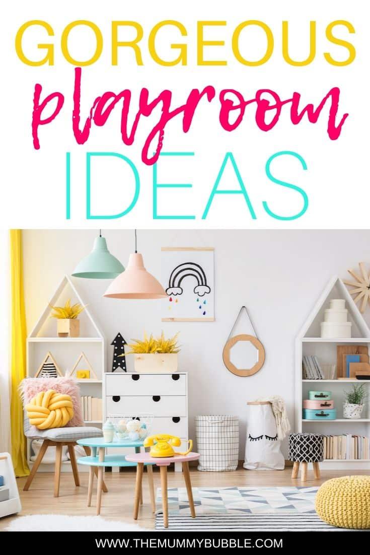 Gorgeous playroom ideas