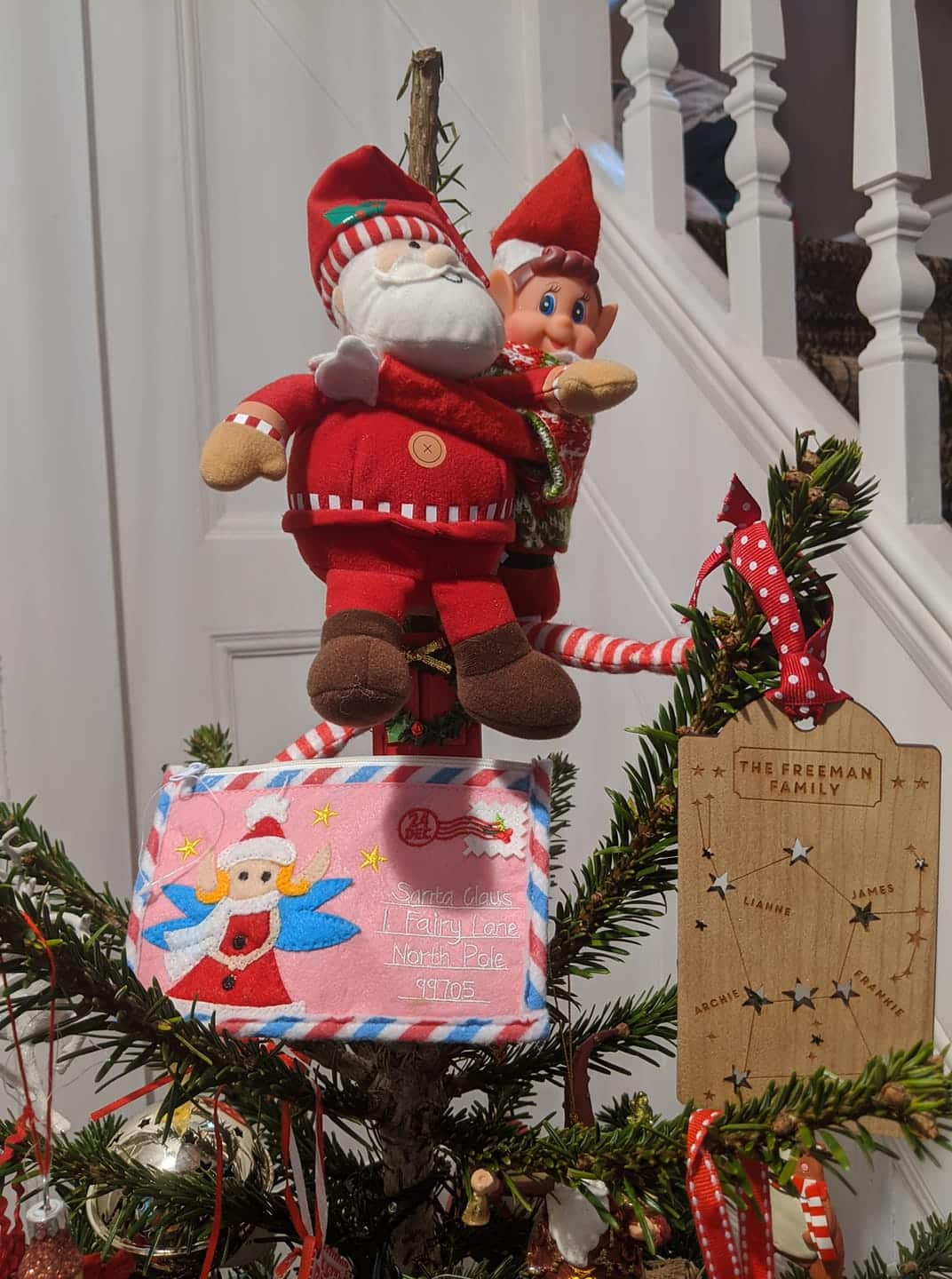 Santa kidnapped by the Elf on the Shelf