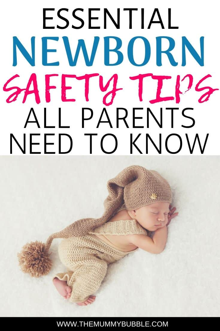 Newborn safety tips for new parents