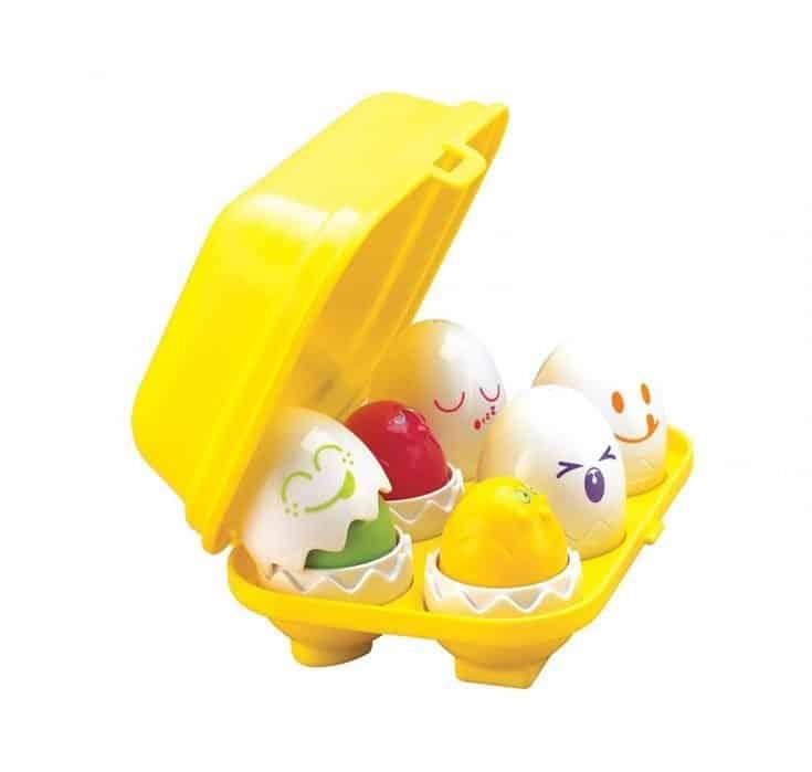 Squeak eggs