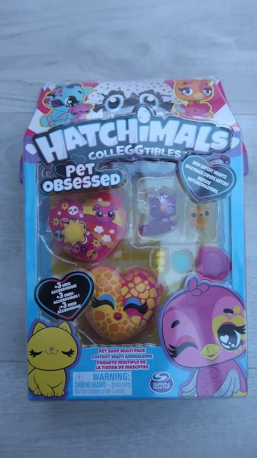 Hatchimals CollEGGtibles Pet Obsessed Pet shop