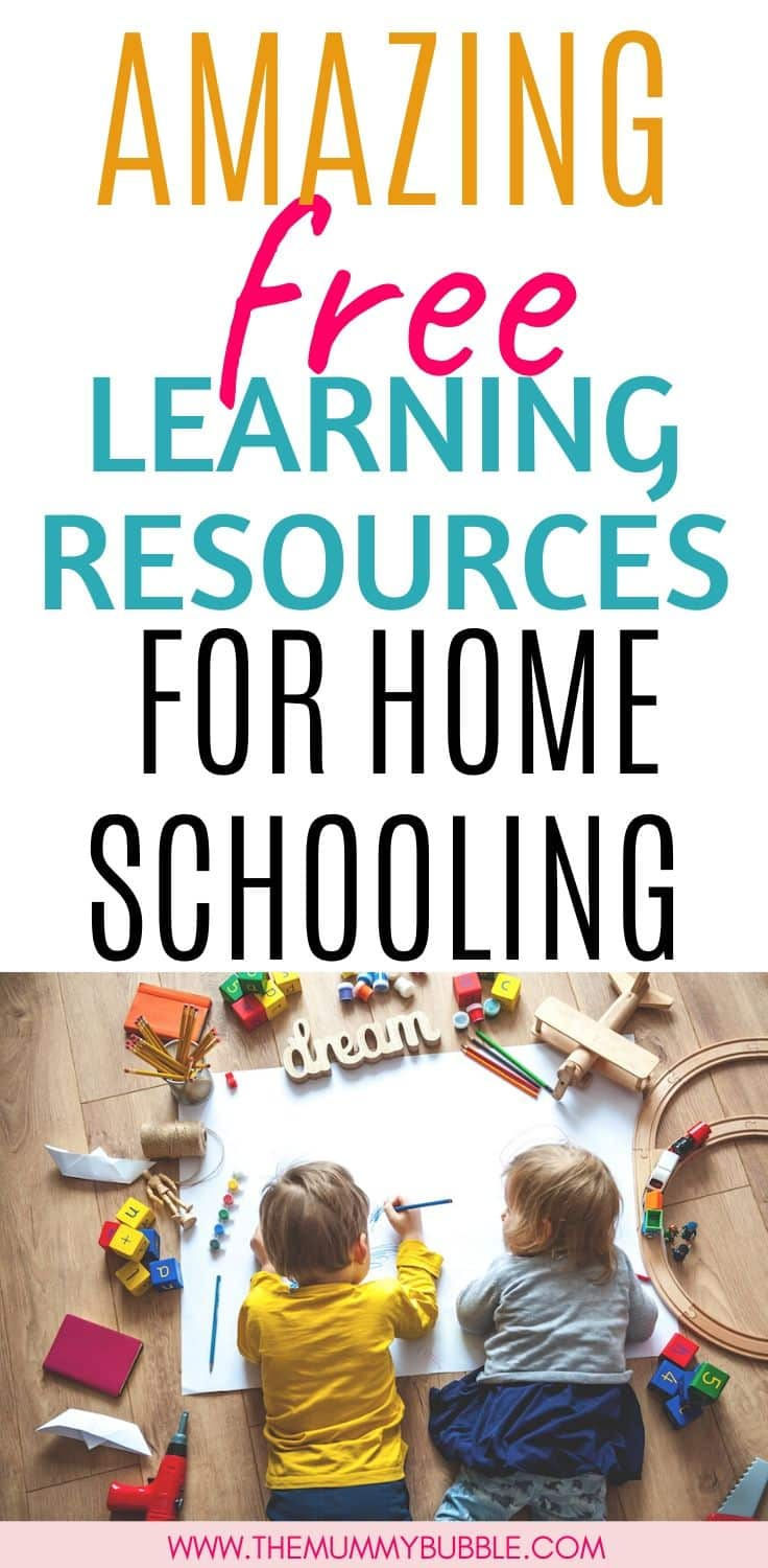 Amazing free learning resources for home schooling