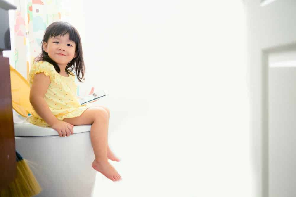 How to potty train your three year old