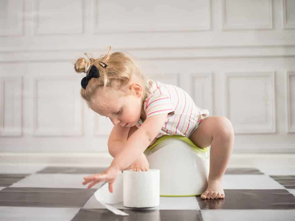 Tips for potty training your three year old