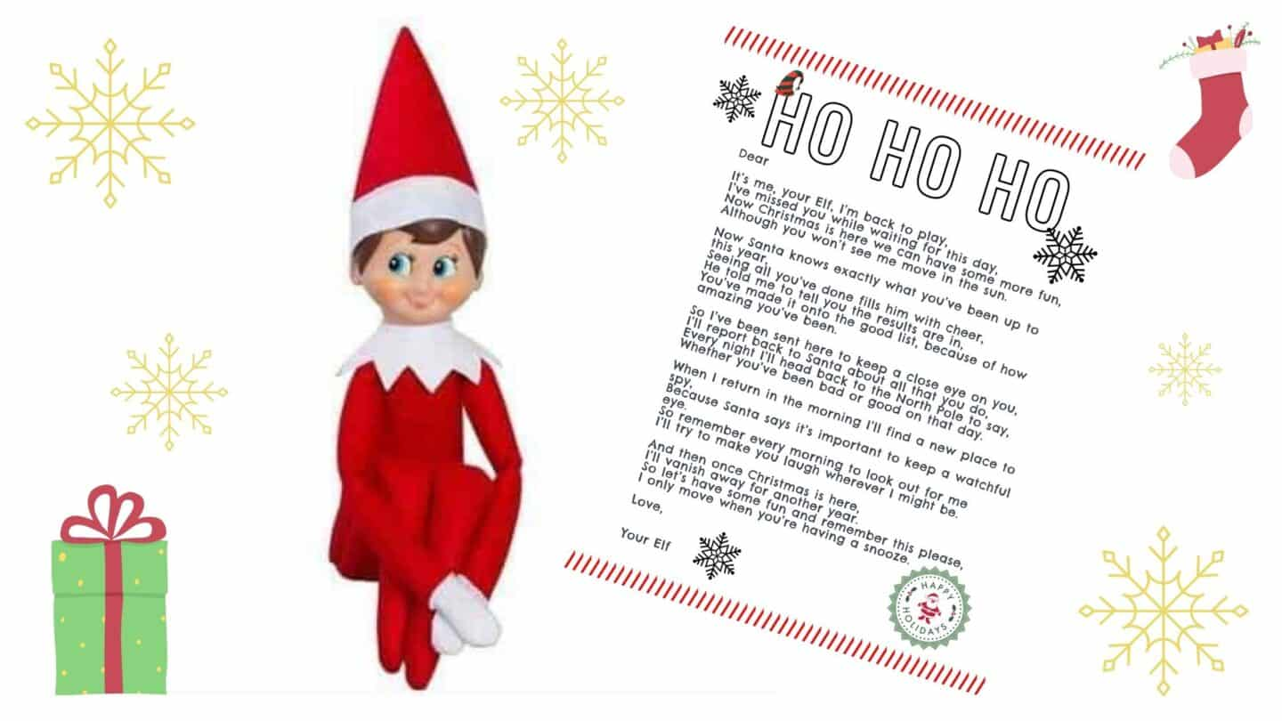 How To Welcome Back Your Elf On The Shelf The Mummy Bubble