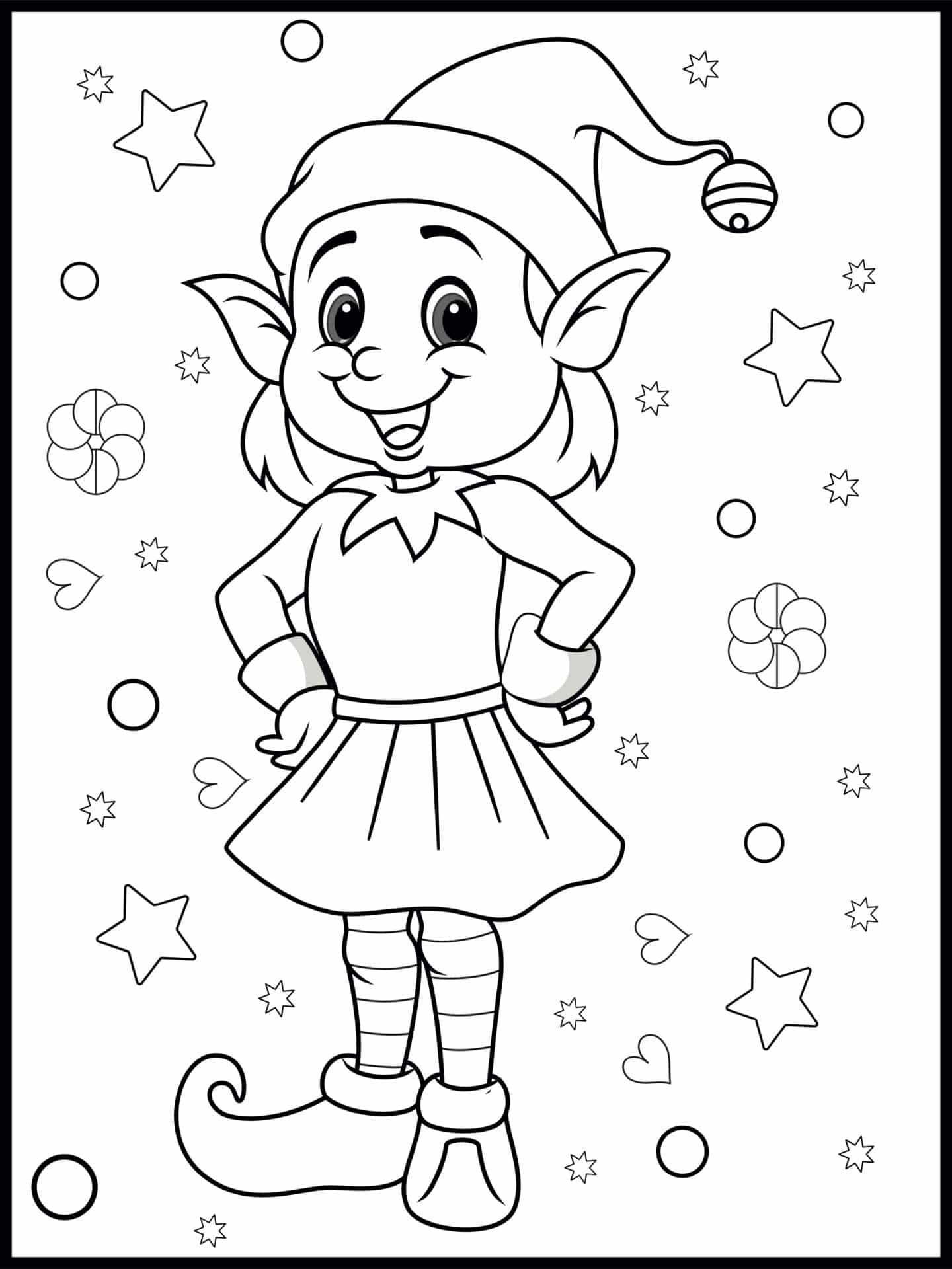 Free Christmas Colouring Activity Pages For Kids The Mummy Bubble